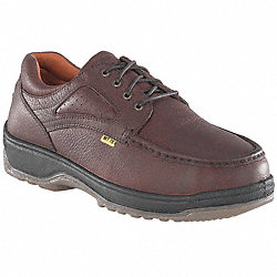 Oxford Shoes, Steel Toe, Met Grd, 9-1/2W, PR