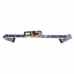 Logistic Ratchet Strap, 16ft x 2In, 1000lb