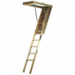Premium Ladder, 71 In Swing, 17 In Step