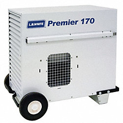 Portable Gas Heater, LP, 170000 BtuH