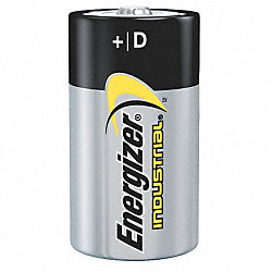 Battery, D, Alkaline