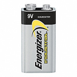 Battery, Alkaline, 9V