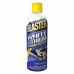 White Lithium Grease, Aearosol, 11 Oz.