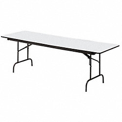 Folding Table, 30 x 60, Gray