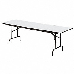 Folding Table, 30 x 96, Gray