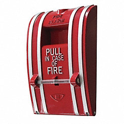 Fire Alarm Pull Station, Single Action