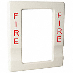 Trim, Marked Fire, Finish White