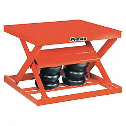 Scissor Lift Table, 2000 lb., 48 In. L