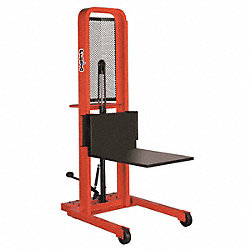 Stacker, Foot Operated, w/Platform