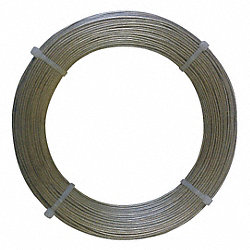 Wire, Coil, 0.125 Dia, 16.8375 ft.