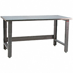 Ergo Workbench, Gray, 72Lx36Wx30H In.