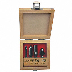 Router Bit Set, 4 Pc