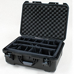 Prtctr Case w/Dvdr, 1.29 cu. ft., Black