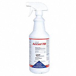 Cleaner and Disinfectant, Bottle, PK 12