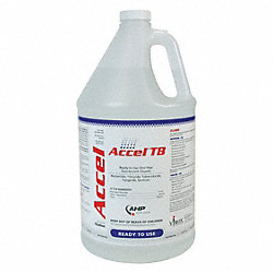 Cleaner and Disinfectant, Bottle, PK 4