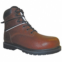 Insulated Boots, Steel Toe, 6In, 10-1/2, PR