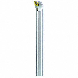 Indexable Boring Bar, Coolant, RH, 3/8 In