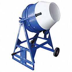 Concrete Mixer, 3 Cu. Ft., Electric, 1/2HP
