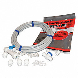 Water Supply Kit w/Filtration, 3/8 Dia