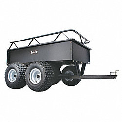 Dump Cart, 14 cu. ft., 1000 lb., Pneumatic