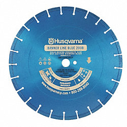 Diamond Saw Blade, Seg., 30 In, Cured Cncrt