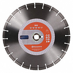 Diamond Saw Blade, Sgmntd, 20 In, Masonry