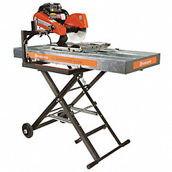 Masonry Saw, Wet Cut, Elctrc, 10 In. Blade