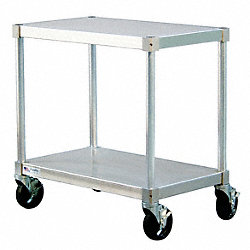 Equipment Stand, Mobile, 15x48x24