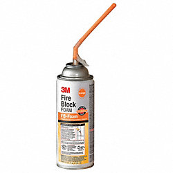 Fire Block Sealant, 12 oz., Orange, Aerosol