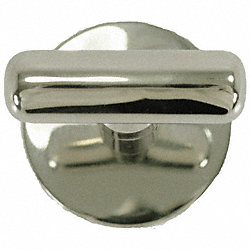 Robe Hook, Single, Satin Nickel SS, 3 In