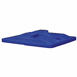 Basket Truck Lid, Bl., Fits 7-1/2 cu. ft.