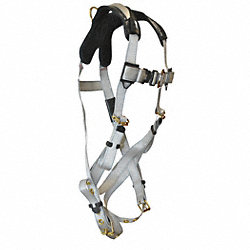 Full Body Harness, Universal, 310 lb, Silvr