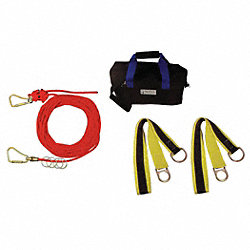 Horizontal Lifeline Kit, 100 ft. L