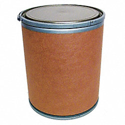 Fiber Drum, Open Head, 30 Gal, Lt Brown