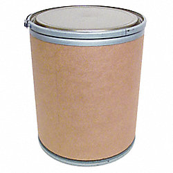 Fiber Drum, Open Head, 15 Gal, Lt Brown