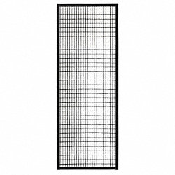Wire Partition Panel, W 1 Ft x H 7 Ft