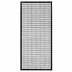 Wire Partition Panel, W 2-1/2 Ft x H 5 Ft