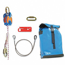 Rescue System, 400 ft., 310 lb., Kernmantle