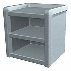 Nightstand, Slate Blue, 21W x 21H x 18In D