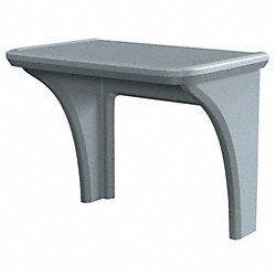 Desk, Endurance Series, Gray