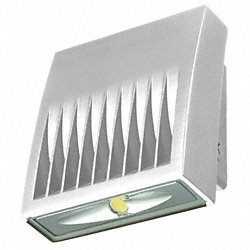 LED Luminaire, White, 20W, 120 to 277V