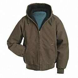 Hooded Jacket, No Insulation, Tobacco, 2XL