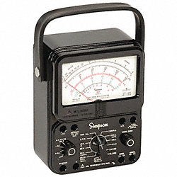 Analog Multimeter, 1000V, 10A, 20M Ohms