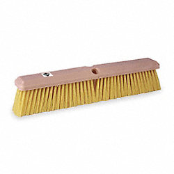 Push Broom, Ylw Synthetic, Gnrl-Purpose