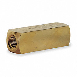 Check Valve, Brass, 1/2-14, 15 GPM, 2000 PSI