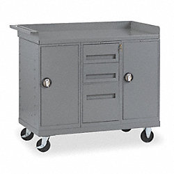 Mobile Service Bench, 48 In. L, 25 In. W