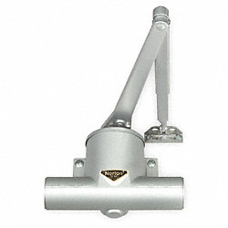 Hydraulic Door Closer, Right Handed, Alum