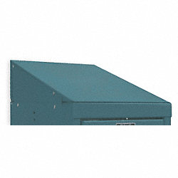 Locker Slope Top, W 12, D 15, H5, Green Mist