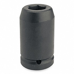 Impact Socket, Deep, 1 In Dr, 1 1/2 In, 6 Pt