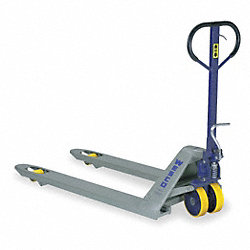 Pallet Jack, Blue/Gray, 8 Gauge Steel